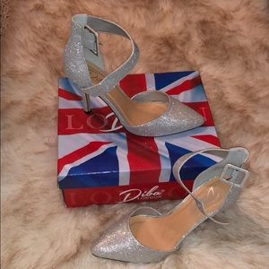 6157fb418319 jcpenney Shoes - JCP silver heels